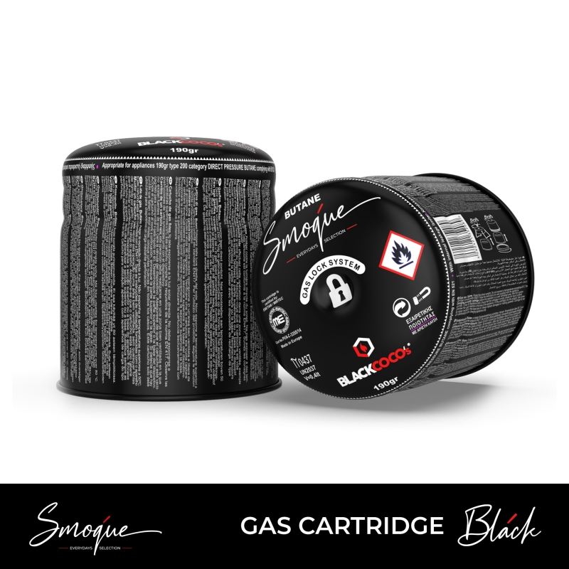 GAS CARTRIDGE BLACK